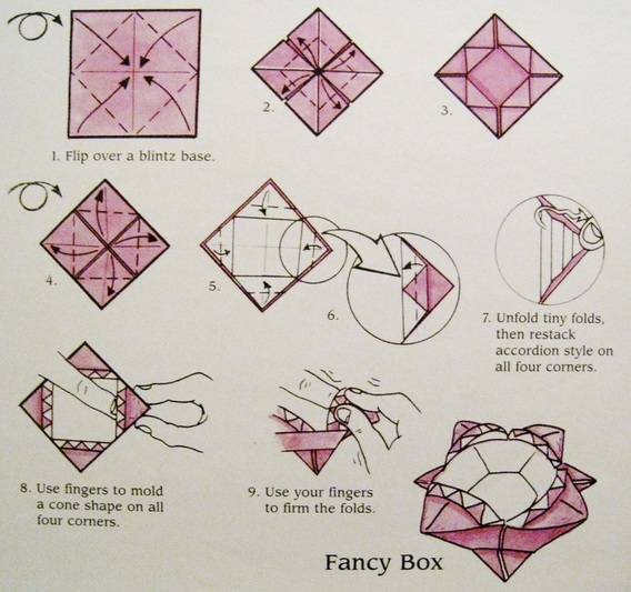 simple box, how to fold a box, origami box instructions, box ... | 533x568